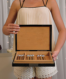 Premium Cigar Humidor