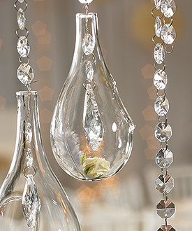 Small Blown Glass Tear Drops