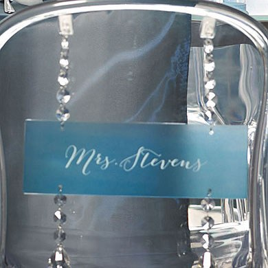 Transparent Acrylic Sign