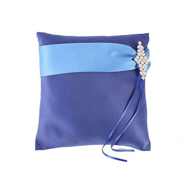 The Crystal Color Personality Ring Bearer Ring Pillow