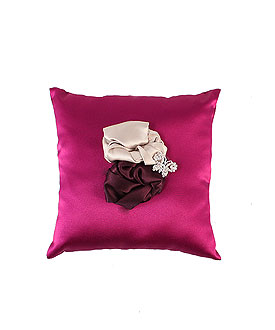 The Jennifer Color Personality Ring Bearer Ring Pillow
