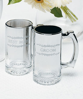personalized stein wedding accessories