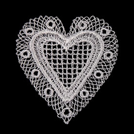 Heart Shape Wedding Lace