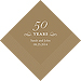 50 Years Printed Napkins