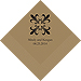 Fleur De Lis Printed Napkins