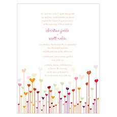 Hearts Invitation