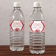 French Whimsy Water Bottle Label