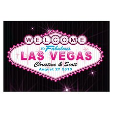 Las Vegas Large Rectangular Tag