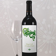 Luck Of The Irish Wine Label