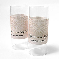 Vintage Lace Mini Luminary Wrap