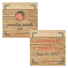 Fruit Themed Square Tags