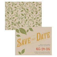 Vineyard Save The Date Card