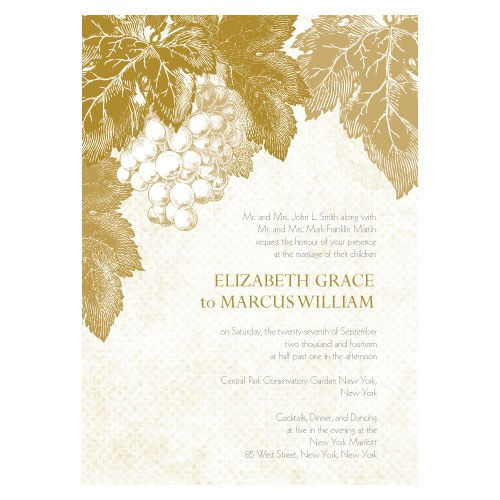 vineyard theme wedding Wants Wishes wine themed wedding invitations